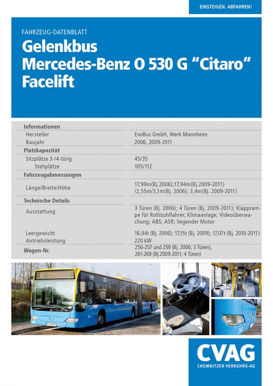 Mercedes-Benz O530G Citaro Facelift