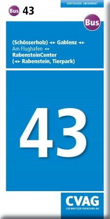 Fahrplandownload Bus 43_Engl