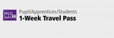 1-Week Travel Pass for Pupil